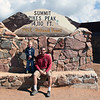 Kyle and I at Pikes Peak, Colorado.