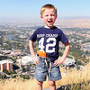 "Kyle posing in front of Missoula. Pic taken from the ""M"" on the side of the mountain overlooking the city."