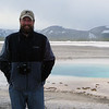 Me in front of a pool at Yellowstone National Park, April 2013.