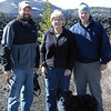 Mom, Dad and I in Craters of the Moon National Monument outside Arco, Idaho, April 2013.