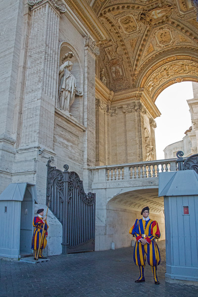 Pontifical Swiss Guards