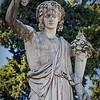 Statue in Piazza del Popolo