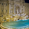 Quiet waters around Trevi Fountain?