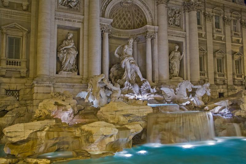 Sculpture of Trevi Fountain