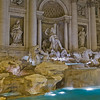 Sculpture of Trevi Fountain