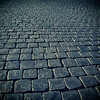 Cobblestones on St. Peter's square