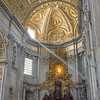 Light Beam in St. Peter's Basilica