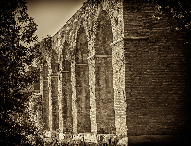 Aqueducts on Capitoline Hill