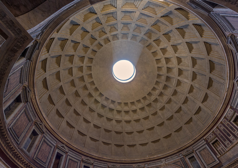 The Dome of the Roman Pantheon