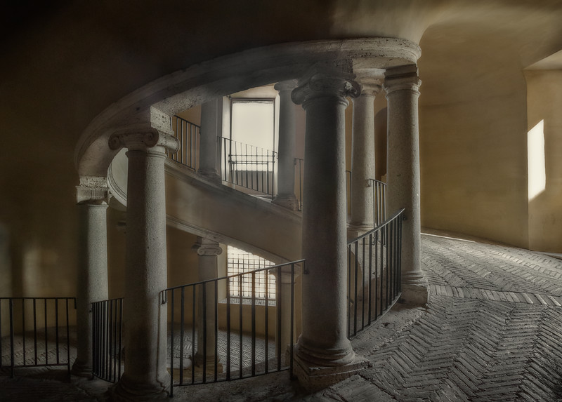 Bramante Double Staircase