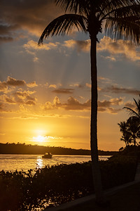 Sunset in Cape Coral Florida