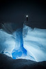 Ice crevasse, Greenland icecap