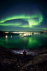 Aurora Borealis over Ilulissat, Greenland