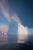 Iceberg and sunset, Greenland