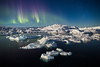 Aurora over Icefjord, Greenland