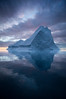 Iceberg and sunset, Greenland