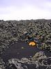 Hekla area, lava shelter, Iceland