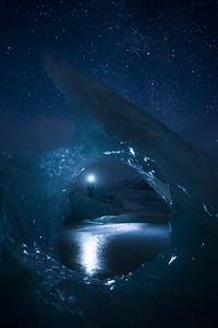Exploring Fjallsarlon Glacier