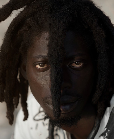 Portrait of a Rasta man.   Casamance, Senegal, 2020