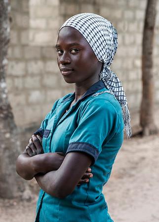 student.  Senegal, 2020