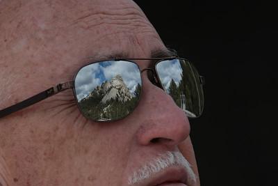 Shiny Shades at Mount Rushmore