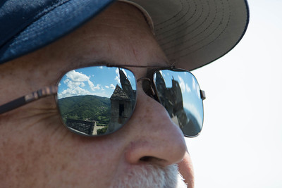 Shiny Shades at Aggstein Castle