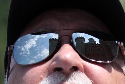 Shiny Shades at the castle