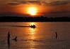 Sunset on Turtle Lake, Shoreview, Minnesota, #0056