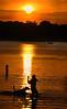 Sunset on Turtle Lake, Shoreview, Minnesota, #0110
