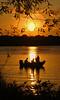 Sunset on Turtle Lake, Shoreview, Minnesota, #0109