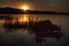 Sunset on Snail Lake