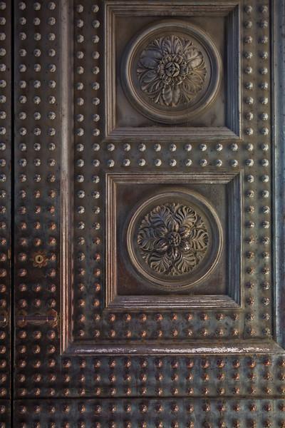 Large Brass Doors