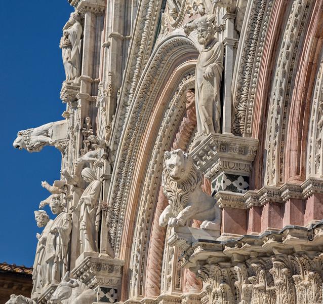 Duomo Facade - side view