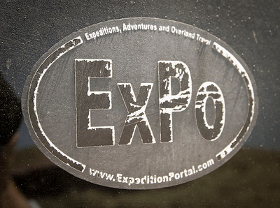 Weatherized version of the ExpeditionPortal window sticker