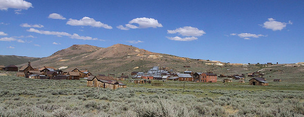 Bodie , CA - circa 2011  Formally population 10,000.  Current population, 4