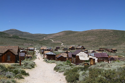 Bodie mining town, circa 2011