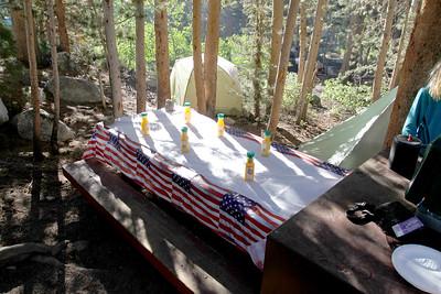 Breakfast in Rock Creek