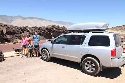 Obligatory stop at Fossil Falls