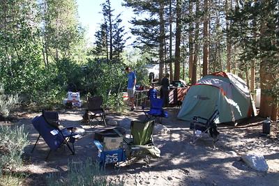 Car camping in Rock Creek