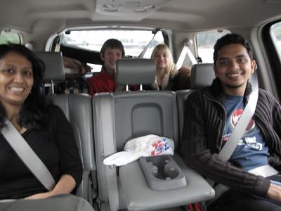 L-R:  Priya, Cocoa, Trevor, Megan, Sam