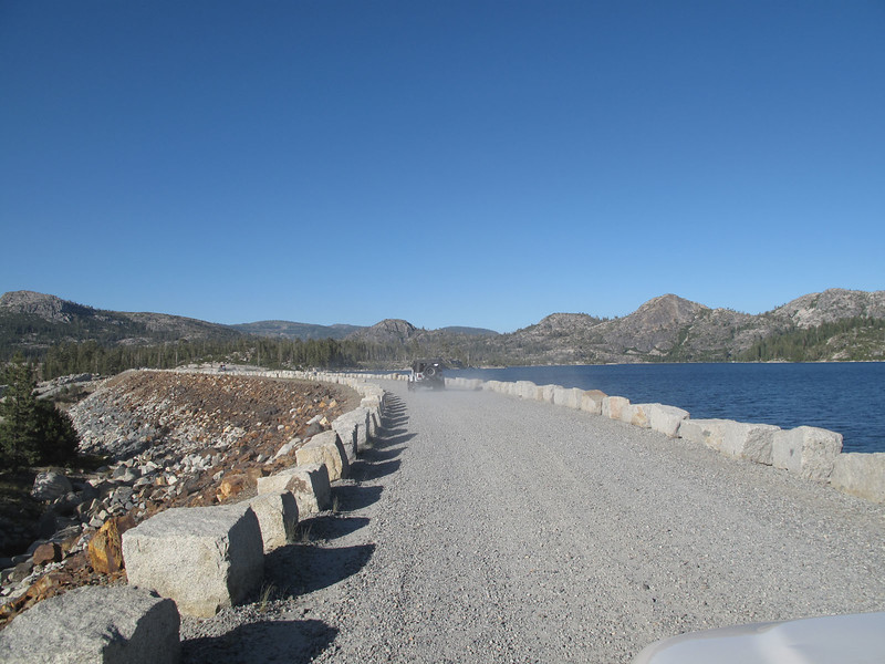 Loon Lake Dam.  The trail head is at the end of the causeway