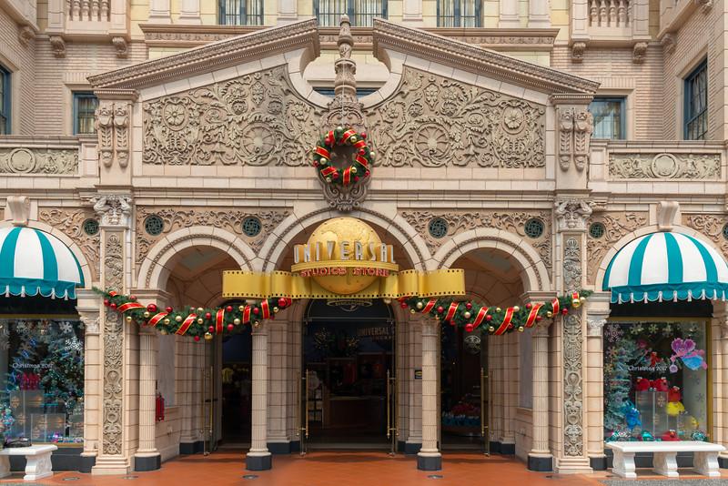 Universal Studios Store. Universal Studios Singapore is a theme park located within Resorts World Sentosa on Sentosa Island, Singapore.