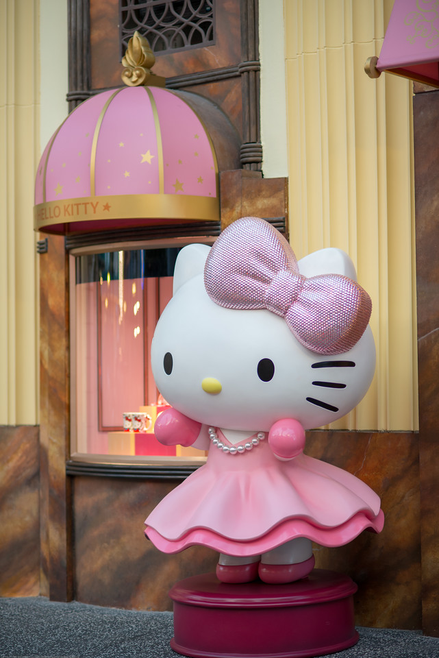 Hello Kitty. Universal Studios Singapore is a theme park located within Resorts World Sentosa on Sentosa Island, Singapore. It has since attracted more than 2 million visitors in the 9 months from its opening.