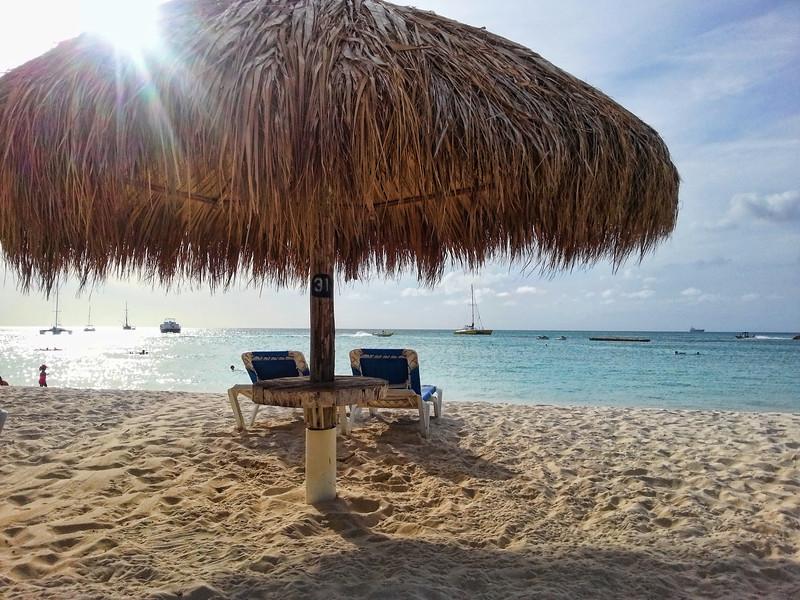 Palapa  beach spot