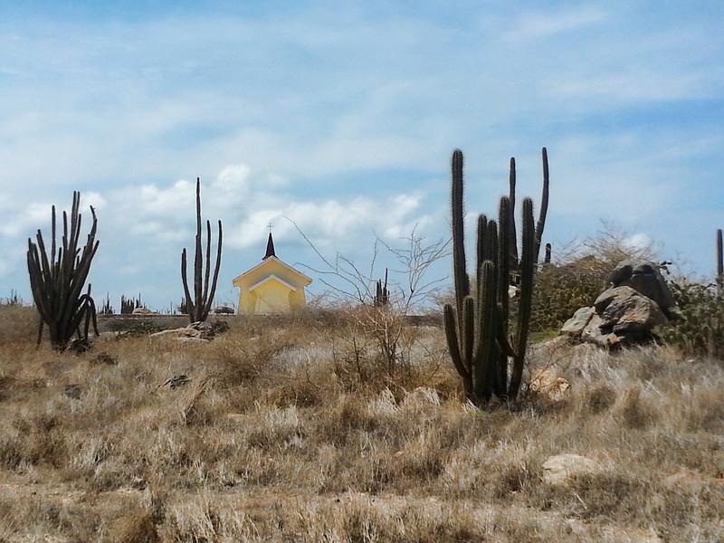 Alto Vista Chapel located on the 'wild' side