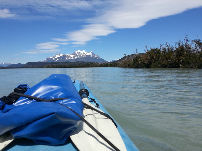 A perfect view of Torres Del Paine