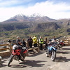 "The group takes a break on their first day of riding in the Andes, Chile<br /> <br /> <a href=""http://www.motoquesttours.com/guided-motorcycle-tour.php?peru-machu-picchu-adventure-25"">http://www.motoquesttours.com/guided-motorcycle-tour.php?peru-machu-picchu-adventure-25</a>"