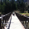 "Rod and Natalie make their way across a little bridge <a href=""http://bit.ly/peruadventure"">http://bit.ly/peruadventure</a>"