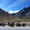 """Motorcycle group at Abra la Raya <a href=""""http://bit.ly/peruadventure"""">http://bit.ly/peruadventure</a>"""