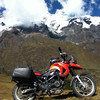 "A nice looking BMW on the Cordillera Urumbamba <a href=""http://bit.ly/peruadventure"">http://bit.ly/peruadventure</a>"
